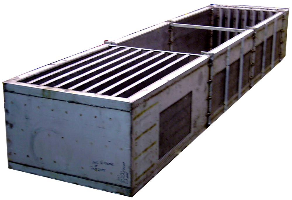 Coladores centrales de enfriamiento de emergencia para aplicaciones nucleares
