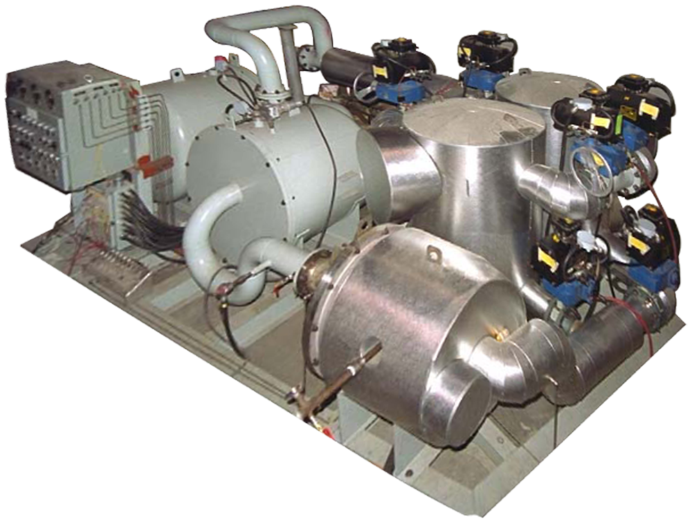 Vapor Recovery Dryers For Nuclear Applications