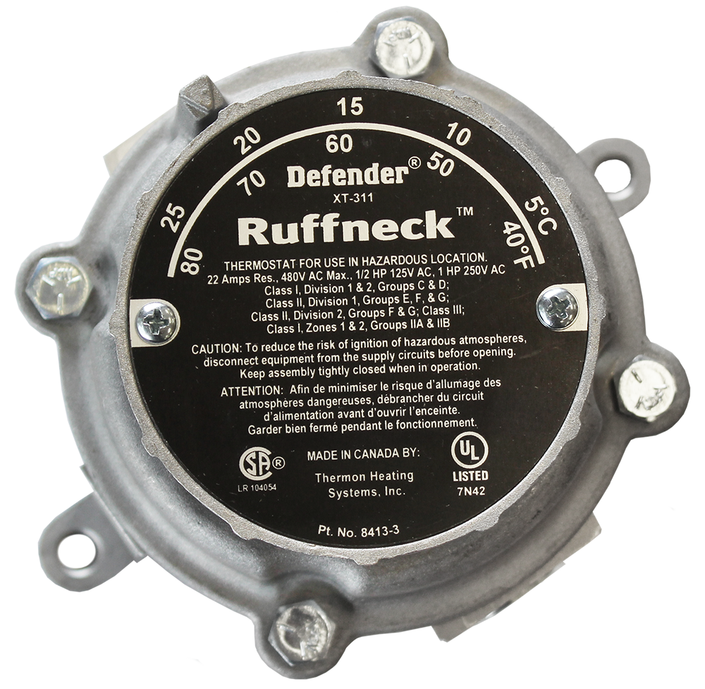 Defender® heavy-duty explosion-proof thermostats